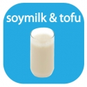 soymilk and tofu